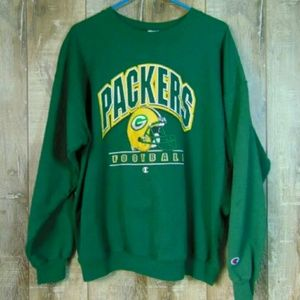 Vintage Champion Green Bay Packers crewneck XL